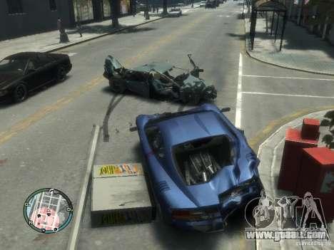 Realistic car damage for GTA 4