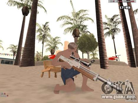 Woody Weapons Pack for GTA San Andreas forth screenshot