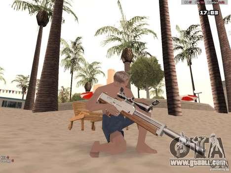 Woody Weapons Pack for GTA San Andreas forth screenshot