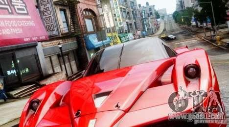 Ferrari FXX Evoluzione for GTA 4 left view