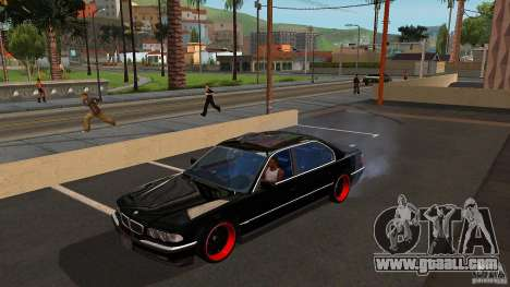 BMW E38 750LI for GTA San Andreas