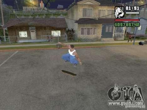 Skate for GTA SA for GTA San Andreas