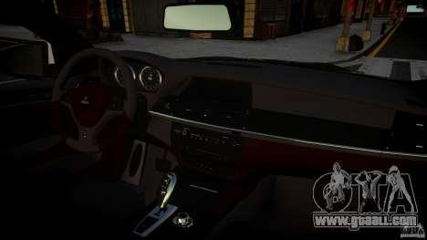BMW X 6 Hamann for GTA 4 back view