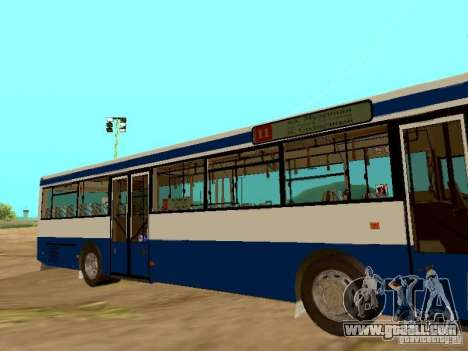 MAN SL202 for GTA San Andreas left view