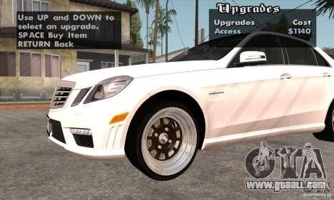 Wheels Pack by EMZone for GTA San Andreas sixth screenshot