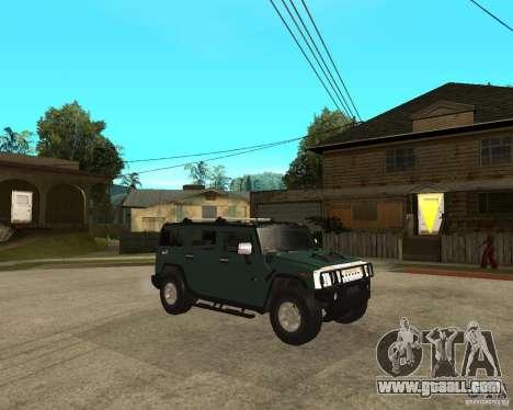 AMG H2 HUMMER SUV for GTA San Andreas right view