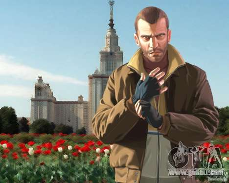 Boot screen Russia in America for GTA 4 second screenshot