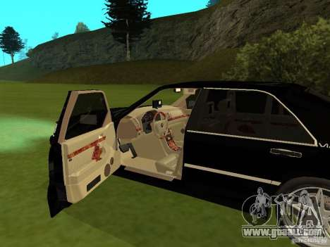 Mercedes-Benz 600 W140 for GTA San Andreas back view
