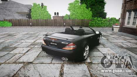 Mercedes Benz SL65 AMG for GTA 4 back left view