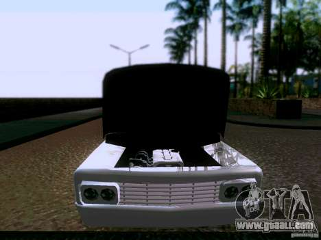 Slamvan Tuned for GTA San Andreas back view
