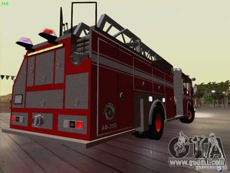 Camiao Dos Bombeiros ABE CBMESP for GTA San Andreas right view
