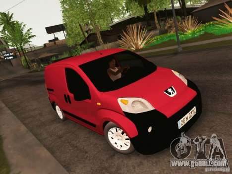 Peugeot Bipper for GTA San Andreas inner view