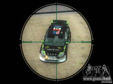Rifle VSS Vintorez for GTA San Andreas fifth screenshot