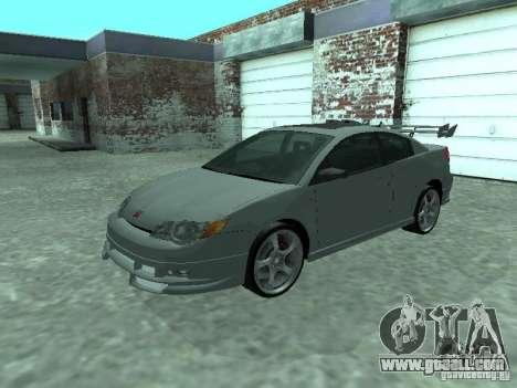 Saturn Ion Quad Coupe 2004 for GTA San Andreas interior