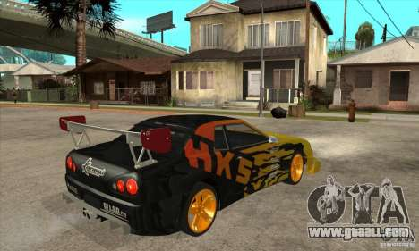 Tuneable Elegy v0.1 for GTA San Andreas right view