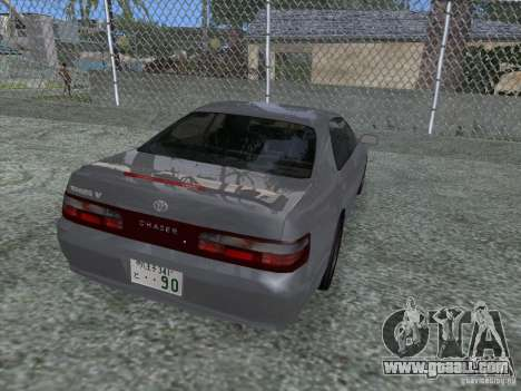 Toyota Chaser JZX90 Stock for GTA San Andreas left view