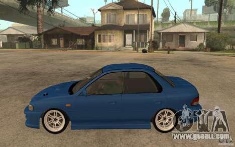 Subaru Impreza GC8 JDM SPEC for GTA San Andreas left view
