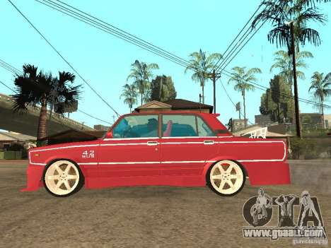 VAZ 2107 Sparky for GTA San Andreas left view
