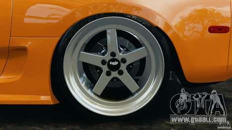 Toyota Supra Tuning for GTA 4 bottom view