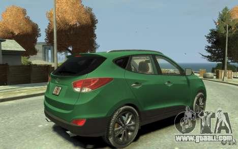 Hyundai IX35 2010 Beta for GTA 4 right view