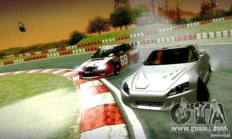 Honda S2000 Street Tuning for GTA San Andreas side view