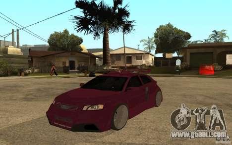Audi A3 Tuned for GTA San Andreas