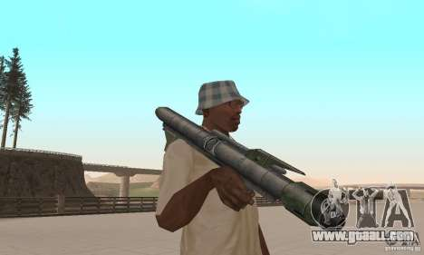 Pack weapons of Star Wars for GTA San Andreas seventh screenshot