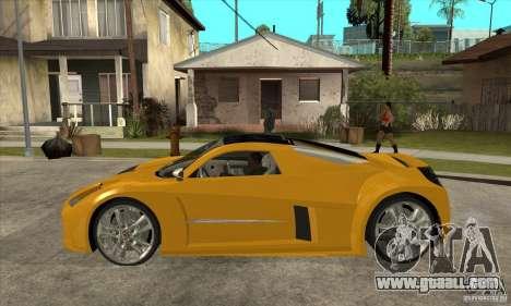 Chrysler ME Four-Twelve Concept for GTA San Andreas left view