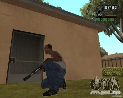 Black Chrome Eagle for GTA San Andreas