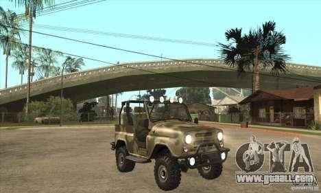 UAZ-3150 varmint for GTA San Andreas back view