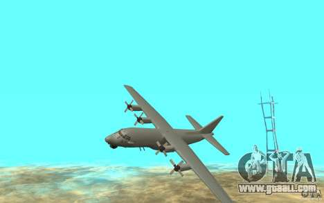 C-130H Spectre for GTA San Andreas left view