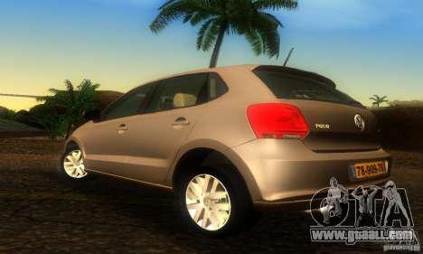 Volkswagen Polo 1.2 TSI for GTA San Andreas left view