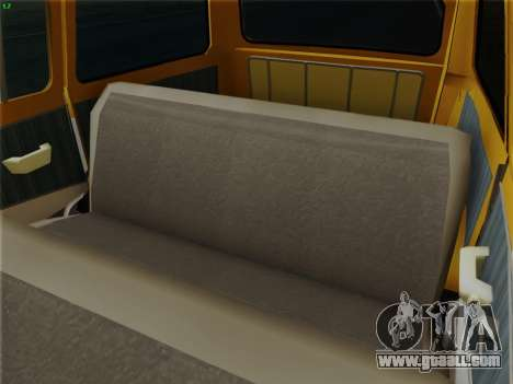 GAS 22 for GTA San Andreas interior
