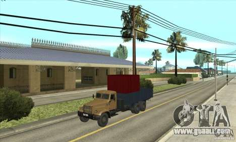 KrAZ-257 for GTA San Andreas