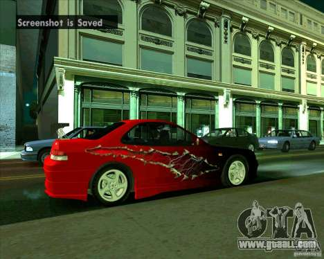 Honda Prelude with tuning for GTA San Andreas right view