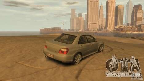 Subaru Impreza for GTA 4 left view