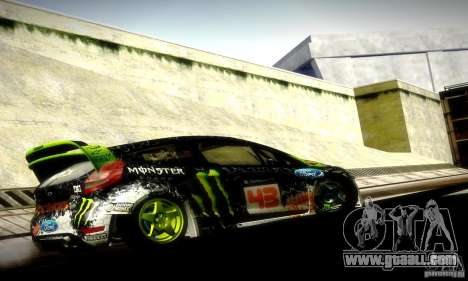 Ford Fiesta Gymkhana 5 for GTA San Andreas right view
