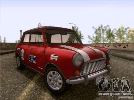 Austin Cooper S 1965 for GTA San Andreas side view