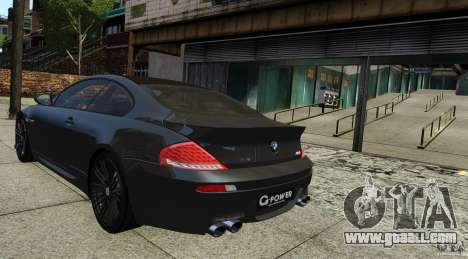 BMW M6 Hurricane RR for GTA 4 left view