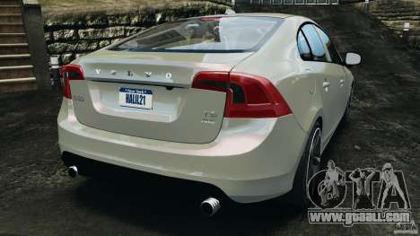 Volvo S60 R Design for GTA 4 back left view