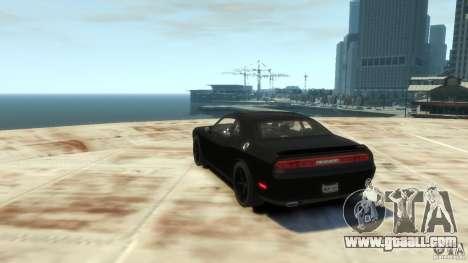 Dodge Challenger SRT8 for GTA 4 right view