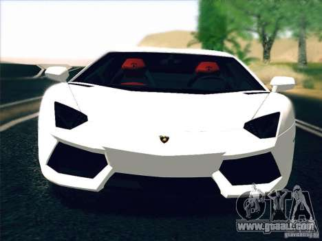 Lamborghini Aventador LP700-4 2011 V1.0 for GTA San Andreas left view