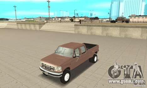 Ford F-350 1992 for GTA San Andreas