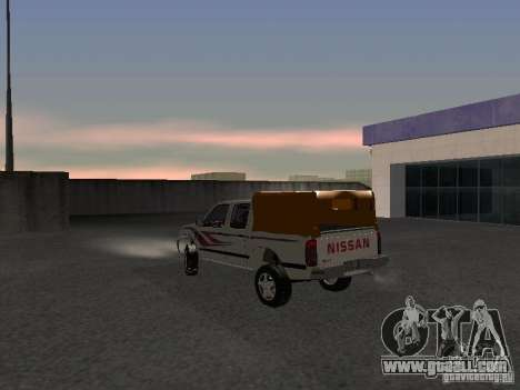 Nissan Pickup for GTA San Andreas back left view