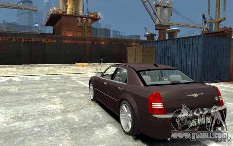 Chrysler 300C for GTA 4 back left view