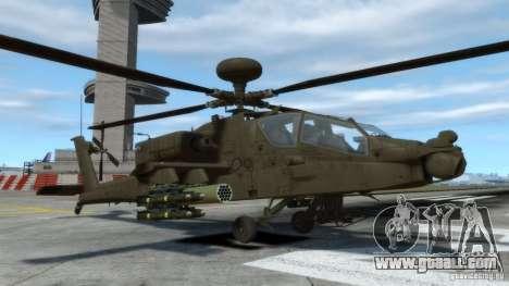 AH-64D Longbow Apache v1.0 for GTA 4