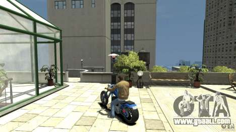 The Lost and Damned Bikes Hexer for GTA 4 back left view