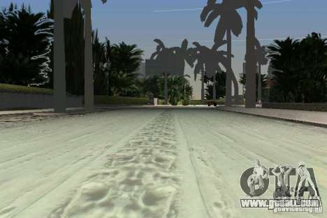 Snow Mod v2.0 for GTA Vice City sixth screenshot