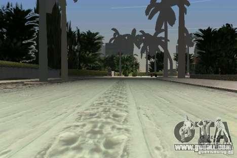 Snow Mod v2.0 for GTA Vice City sixth screenshot