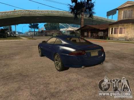 Jaguar XK for GTA San Andreas left view